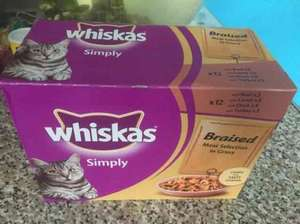 12 Whiskas Cat food Pouches Box £1.99 Farmfoods