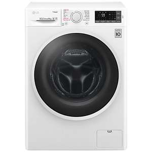 LG F4J6TY0WW 8kg Load, A+++ Energy Rating, 1400rpm Spin John Lewis £379