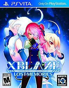 Xblaze Lost: Memories - PS Vita Physical Delivered @ Amazon US £19.75