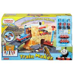 Thomas The Tank Engine (Take N Play): Train Maker / Tidmouth Sheds - Both £12.99 each @ Smyths