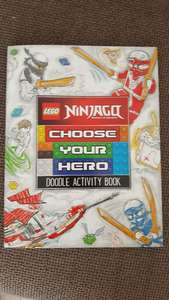 Lego ninjago activity book 99p quality save (middleton). rrp 6.99.