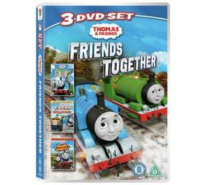 Thomas & Friends Together Triple DVD Pack 99p @ Argos
