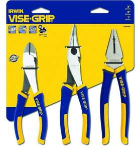 Irwin Visegrip 10505483 Pro Pliers Set  £17.40 Prime or £21.39 non prime @ Amazon