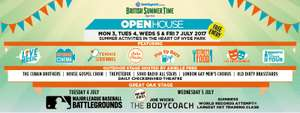 Hyde Park London open house Free film screenings + more