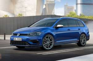 310BHP Golf R DSG Estate Lease 10k miles p.a, £220.80 per month (£1,987.20 initial) £7065.60 whatcar.com