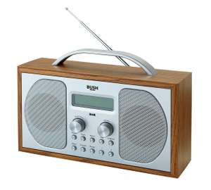 Bush Wooden DAB Radio £24.99 Argos