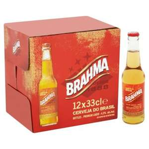 Brahma 12 x 330ml - £6 @ Morrisons In store & Online