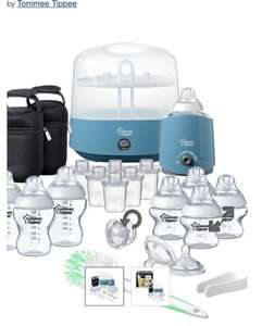 Tommee Tippee Closer To Nature Complete Feeding Kit - Blue £65 Mothercare