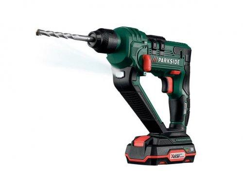 20v li - ion sds+ hammer drill - £49.99 @ LIDL