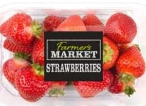 Buy 2 packs of Strawberries 400g (£1.69 each) get Double cream Free @ Iceland