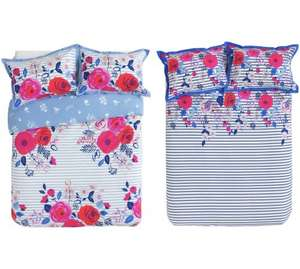 Collection Phoebe Floral Twin Pack Bedding duvet Set (double) for £5 also available in single & kingsize @Argos
