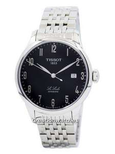 Tissot Le Locle Swiss Automatic mens watch £247.50 Delivered Free with code @ Creation watches