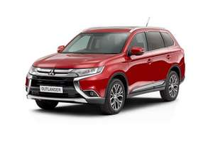 Mitsubishi Outlander 2.2 DI-D 3 7 seat lease - 10k miles - 36m - total £264.01 per month / £9504.44 - gateway2lease