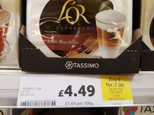 Tassimo L'or Any 2 for £7 in Tesco