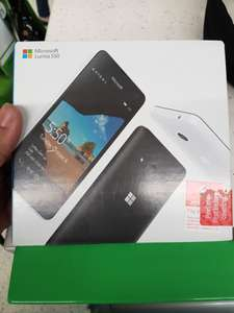 Lumia 550 vodafone £4 instore @ Asda