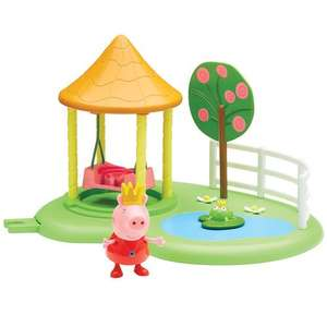 Peppa Pig Princess Peppa's garden swing playset - £3 @ Debenhams (code SH65 for free delivery)