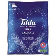 5kg Tilda Basmati Rice only £8.50 @ Tesco