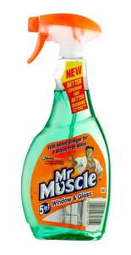 MR MUSCLE WINDOW CLEANER BOTTLE, 500 ML £0.50 @ B&Q