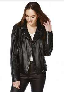 Tesco F & F Leather jacket - £57