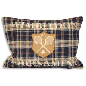 Anyone for tennis? Wimbledon cushion cover £10.18 (Prime) / £14.17 (non Prime) at Amazon
