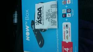 NOWTV Box (with kids pass) £3 Asda instore