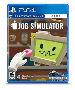 Job Simulator For PSVR PS4 @ Sold by Amazon U.S Brand New - £19.43