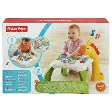 Fisher Price Animal Friends Learning Table £13 online Tesco Direct free c&c