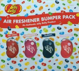 Jelly Belly Air Freshener Bumper 4 Pack £7.15 - Costco Warehouse deal