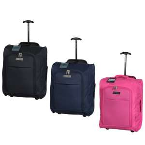 Suitcase - Foldable Cabin Trolley Bag £9.99 @ B&M