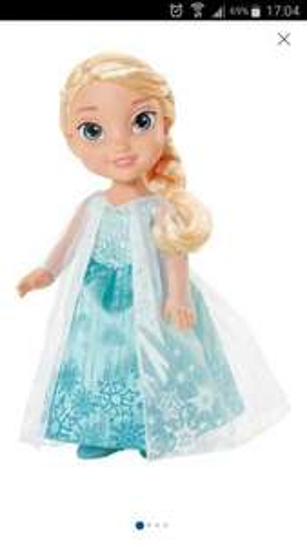 Disney Frozen royal reflection eyes Elsa doll rrp around £20 @ argos