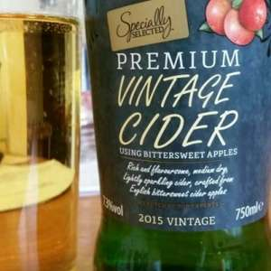 Aldi Specially Selected premium vintage cider £1.69 for 750ml