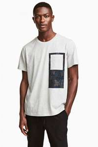 T-SHIRTS & SHIRTS UP TO 70% OFF @ H&M