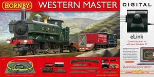 Hornby Western Master DCC Train Set with E-Link PC Control £75 @ Amazon