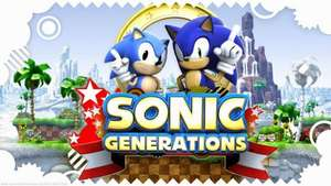 Sonic Generations Collection £3.74 @ Steam