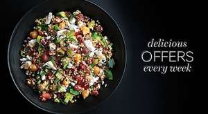 Dine in for £10 at M&S  - Main, Two Sides and Wine - Instore Food Offer