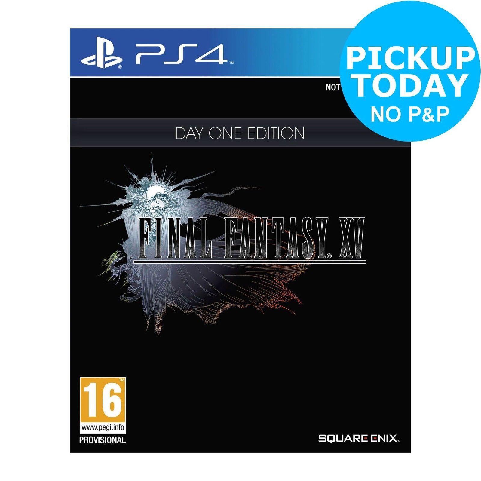 [Xbox One/PS4] Final Fantasy XV Steelbook Special Edition - £23.99 (C&C) - eBay/Argos