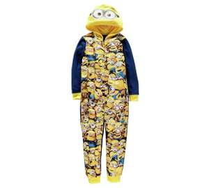 Minions Front Print Onesie (Various Ages) now £5.99 @ Argos