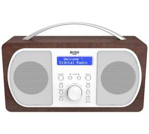Argos; Bush DAB Radio - Walnut 572/2211 Half Price was £49.99 now £24.99