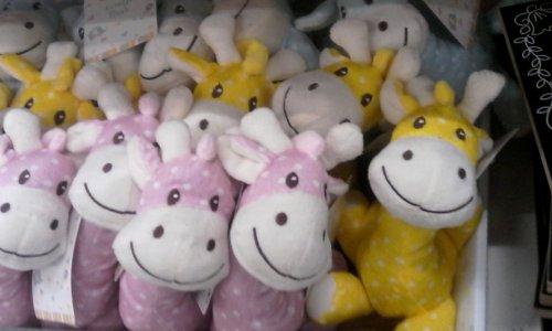 Giraffe Soft toy (3 colours to choose) £1 @ Poundland.