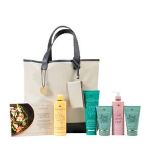 Champneys As Good as New ladies  weekend bag with 5 products now £20 and Soltan family pack was £14 now £10 @ Boots
