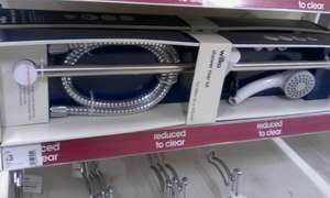 Shower riser Kit reduced from £10 to £3 @ wilko