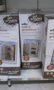 Various wilko green houses reduced @ wilko