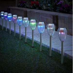 Pack of 10 colour changing solar lights were £15 now £10 with free next day click and collect @ Tesco direct