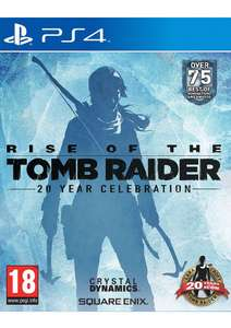 Rise of the Tomb Raider Artbook Edition PS4 - £22.85 @ SimplyGames