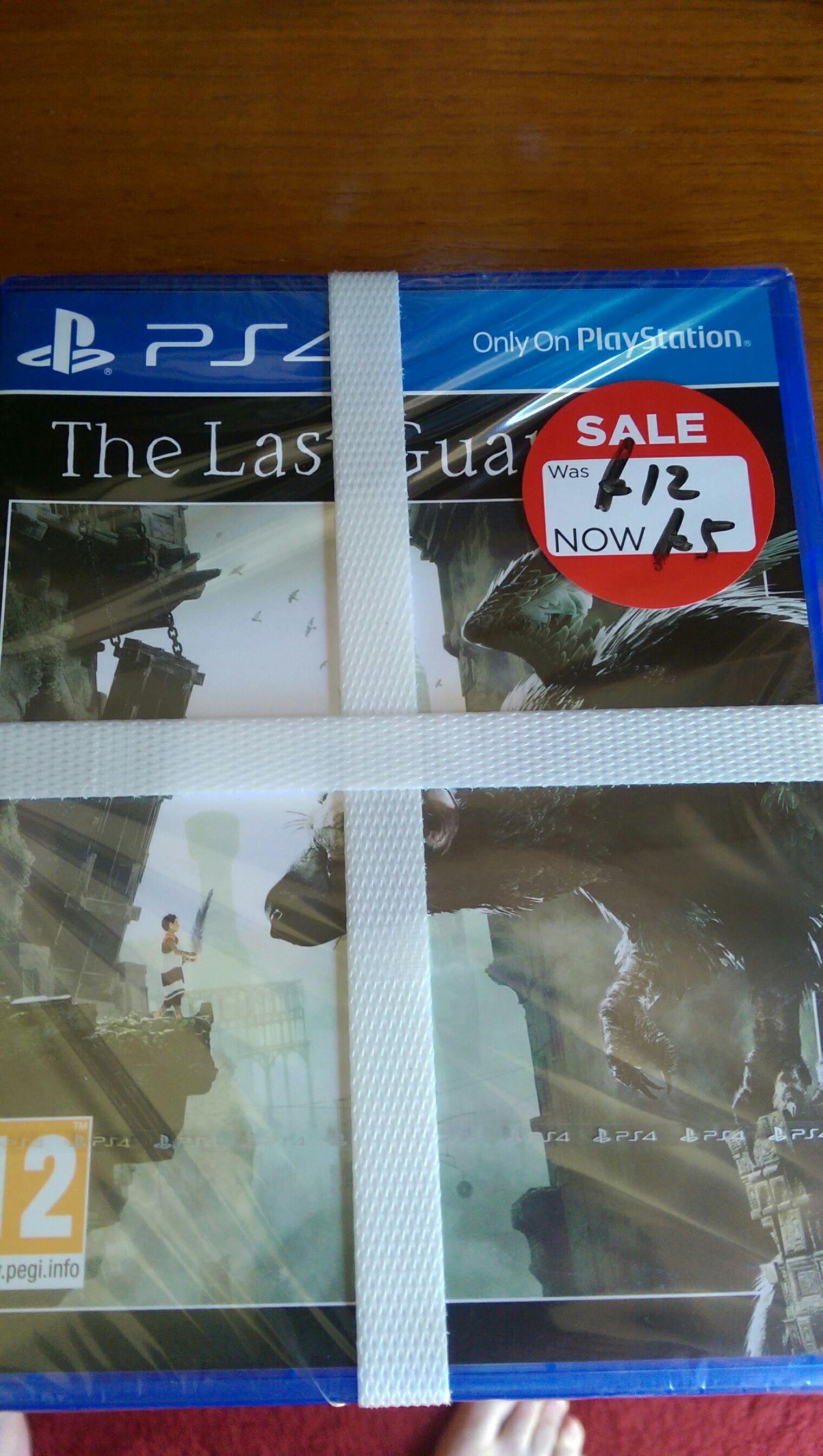 The Last Guardian PS4 - £5 in Asda Farnborough
