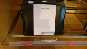 "Knomo Leather Zip Sleeve 12"" (For Macbook) £17.25 instore @ John Lewis"