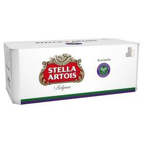 18 x 440ml Stella Artois Rollback £13 at Asda Online and Instore
