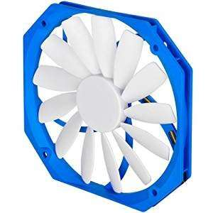 SilverStone SST-FW141 FW Series Quiet Slim Computer Case Cooling Fan 140mm PWM, white-blue £8.64 prime / £12.63 non prime Sold by Venturabuy and Fulfilled by Amazon