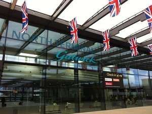Free one hour lounge access at Gatwick Regus lounge