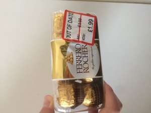 Out Of Date, Ferrero Rocher, Half Price!! £1.99 TJ Hughes In-store Middlesbrough only